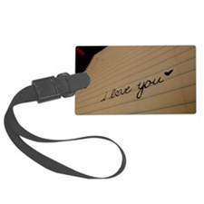 i love you. Luggage Tag