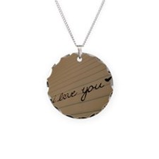 i love you. Necklace