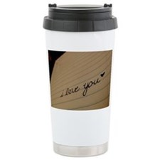 i love you. Travel Mug