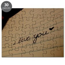 i love you. Puzzle