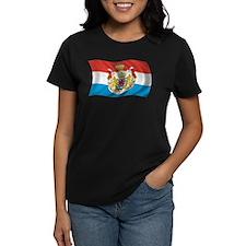 Wavy Luxembourg Flag Tee