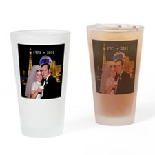 2011 married couple Drinking Glass