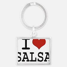 I love Salsa Landscape Keychain