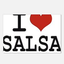 I love Salsa Postcards (Package of 8)