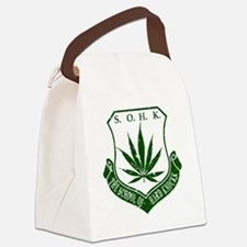 SOHK Weed Green Distressed Canvas Lunch Bag