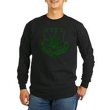 SOHK Weed Green Distresse T