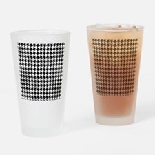 Houndstooth FF Drinking Glass