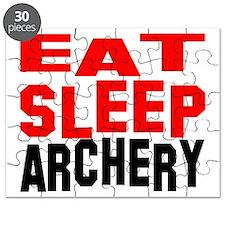 eat sleep archery w Puzzle