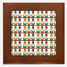 gnomesflipflops3 Framed Tile