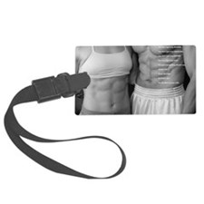 Fitness poster 2 Luggage Tag