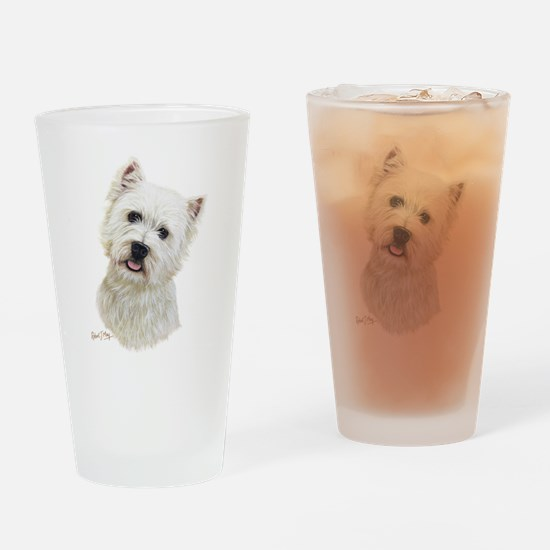 West Highland White Terrier Drinking Glass