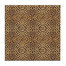 Cheetah FF Tile Coaster