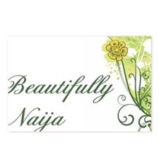 beautifully naija Postcards (Package of 8)