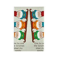 gnomesflipflopsonebyone Rectangle Magnet