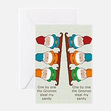 gnomesflipflopsonebyone Greeting Card