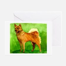 Finnish Spitz Dog Greeting Cards