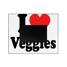 I Heart veggies Picture Frame