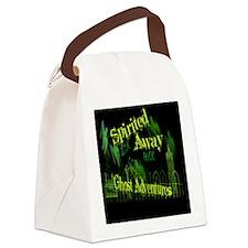 Ghost Adventure sticker Canvas Lunch Bag