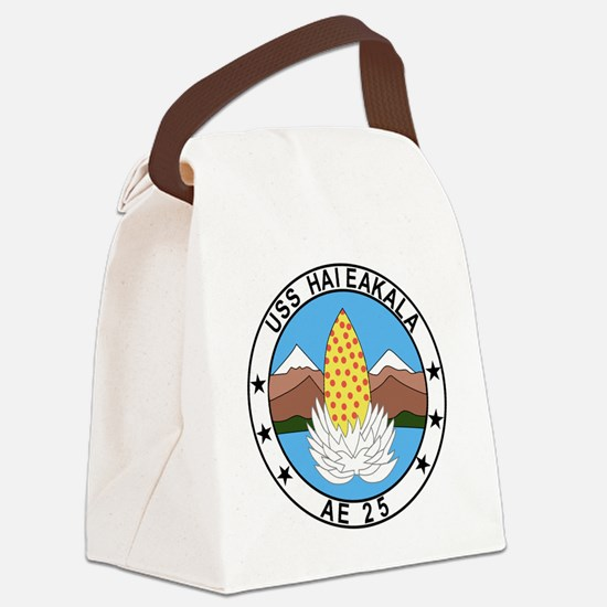 AE-25 USS Haleakala Ammunition Sh Canvas Lunch Bag