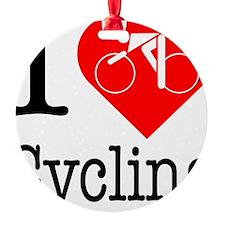I-Heart-Cycling Ornament