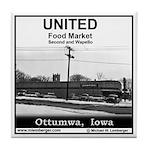 United Food Market Tile Coaster