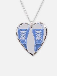 sneaker-blu-FF Necklace