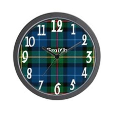 Smith Clan Wall Clock