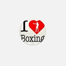 I-Heart-Boxing-Punch Mini Button