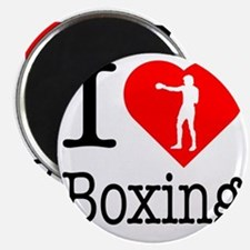 I-Heart-Boxing-Punch Magnet