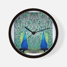 peacockflips Wall Clock