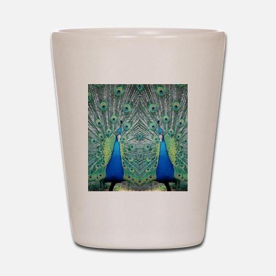 peacockflips Shot Glass