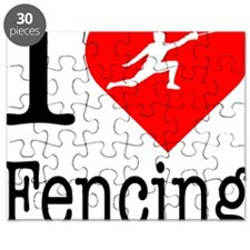 I-Heart-Fencing Puzzle