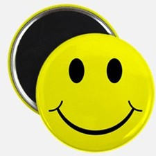 """Classic Smiley Face 2.25"""" Magnet (10 pack)"""