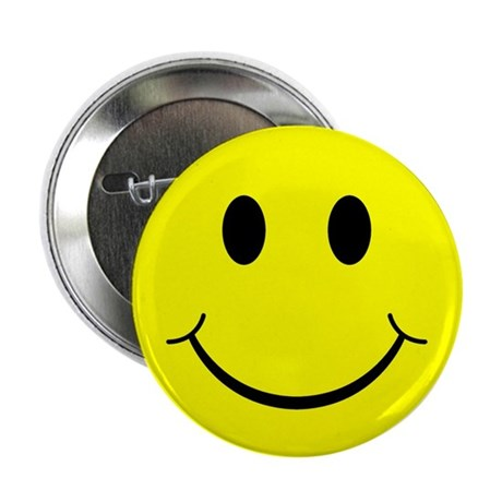 "Classic Smiley Face 2.25"" Button (100 pack)"