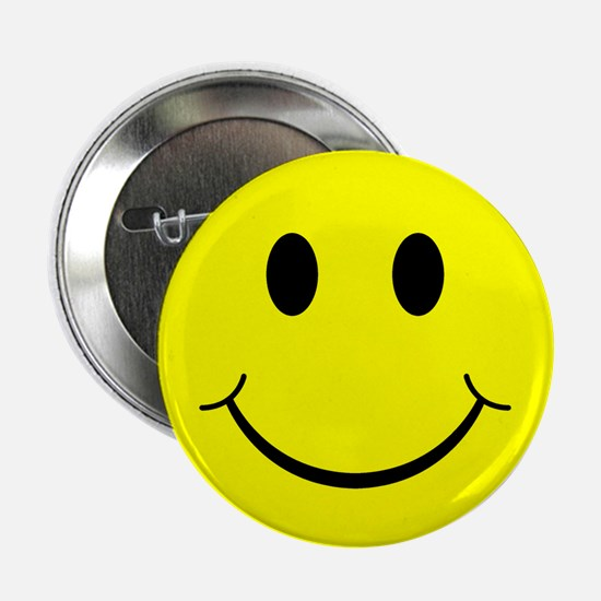 Classic Smiley Face Button