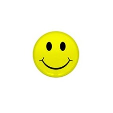 Classic Smiley Face Mini Button (10 pack)