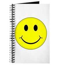 Classic Smiley Face Journal