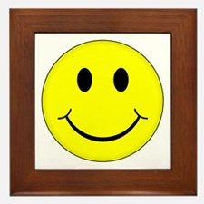 Classic Smiley Face Framed Tile