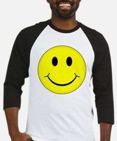 Classic Smiley Face Baseball Jersey
