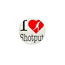 I-Heart-Shotput Mini Button