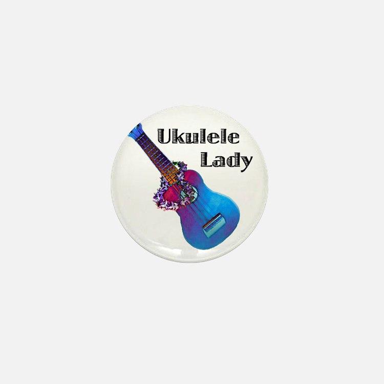 ukulele_lady Mini Button