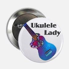 "ukulele_lady 2.25"" Button"