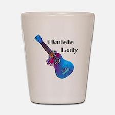 ukulele_lady Shot Glass