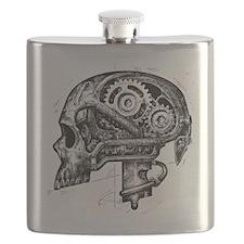 mechskullnobackground Flask