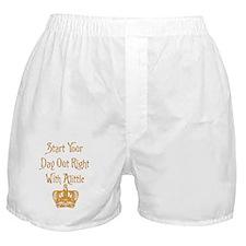 Alittle Crown Boxer Shorts