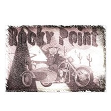 sidecarrockypointcharclo Postcards (Package of 8)