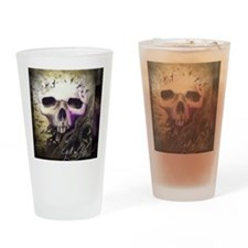 cycleoflife-blk-bckgrd Drinking Glass