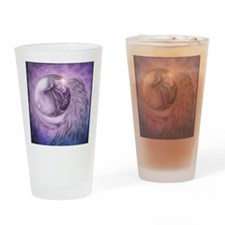 maninthemooninpurple Drinking Glass
