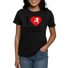 I-Heart-Track Tee