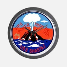 AE-33 USS Shasta Ammunition Ship Milita Wall Clock